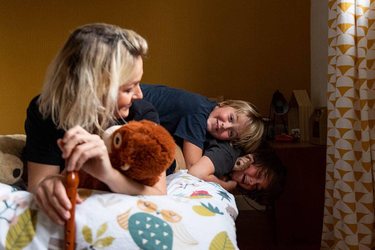 Virginie Bouyer - Photographe professionnelle de Montévrain en Île-de-France - propose une prestation Famille en Lifestyle et en Studio